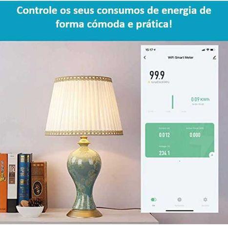 Controle o Consumo de Energia na sua Habitação/Negócio/Garagem