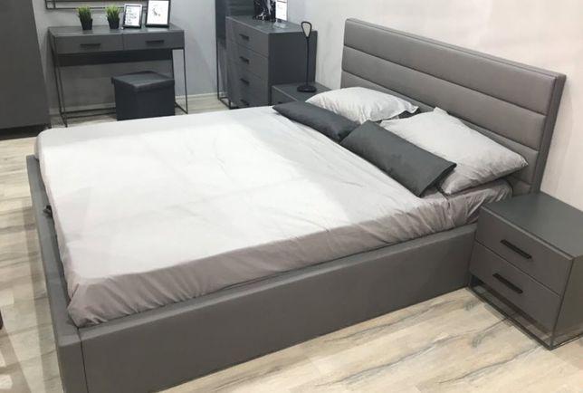 Ліжко Мерс 160х200 (в кольорах) + ламель
