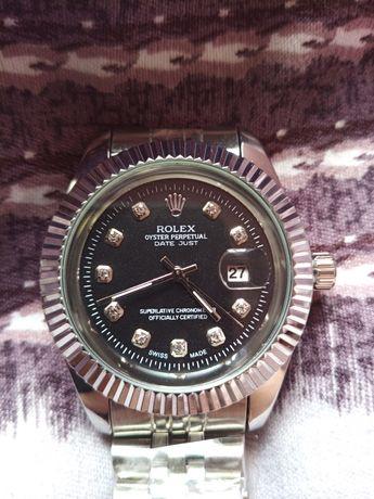 Zegarek Rolex DateJust [Srebrno-Czarny]