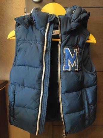 Теплая жилетка H&M , 5-6 лет