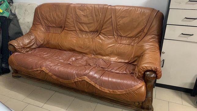 Sofa kanapa Holenderska skóra