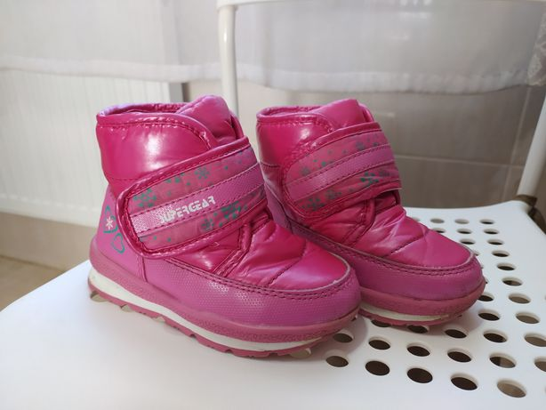 Ботинки сапоги черевики дутики Super Gear 14,5 см