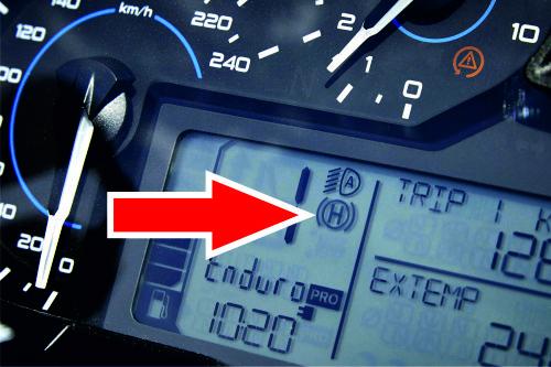 Ativação Hill Start Control BMW R1200 GS GSA R RS K50 K51 K53 K54
