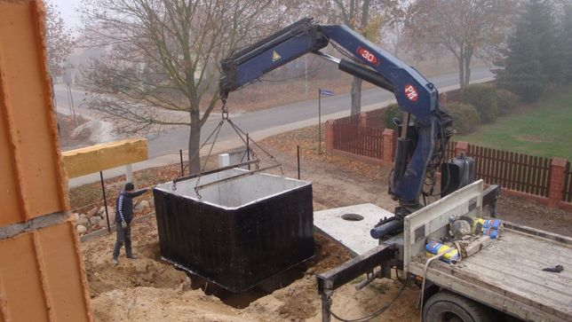Szambo,zbiornik betonowy,szamba,zbiorniki betonowe na deszczówkę