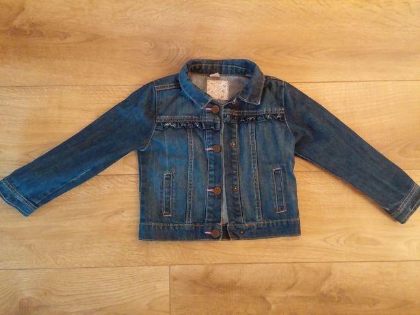 jak nowa bluza jeans katana dla dziewczynki 98 104
