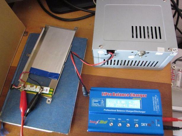 Плоский литиевый аккумулятор 4163 mAh размер 124x70 мм