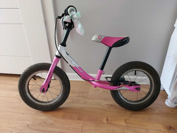 Rowerek biegowy 12 cali różowy