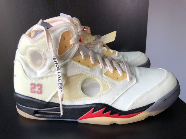Jordan V x OFF WHITE