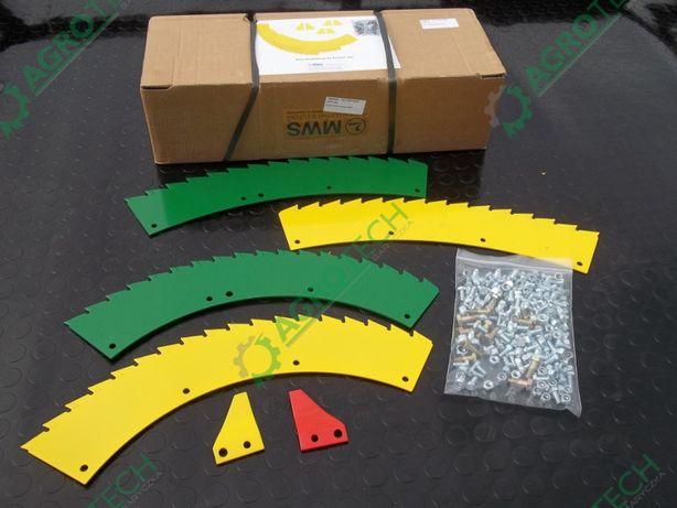 Zestaw komplet noże utwardzane kemper M 4500, 445 zbieraki MWS