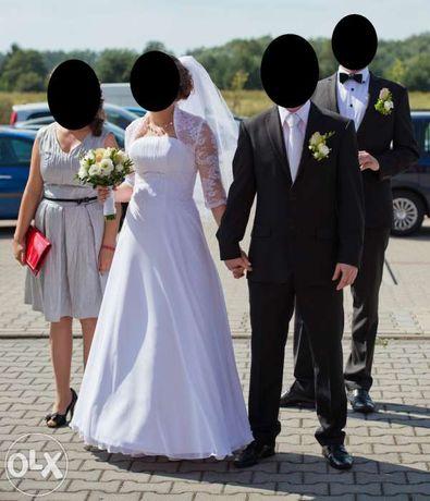 Suknia ślubna z salonu Visual Chris 36 - 38