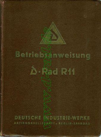 instrukcja obsługi motocykla DRAD R11