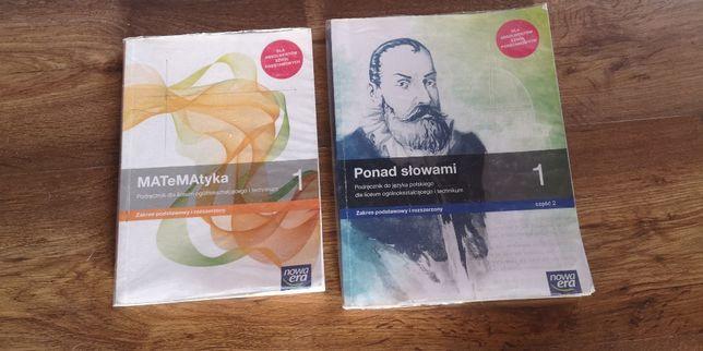 Podręczniki do pierwszej klasy technikum lub liceum