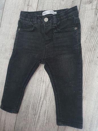 Zara jeansy ciemne