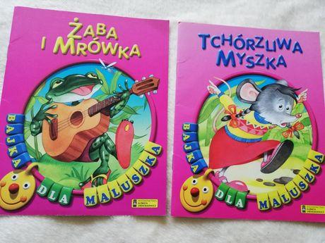 Żaba i Mrówka Tchórzliwa Myszka Elżbieta Jarmołkiewicz