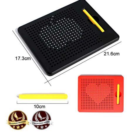 Tablet magnetyczny, tablica magnetyczna z rysikiem Magnetic PAD