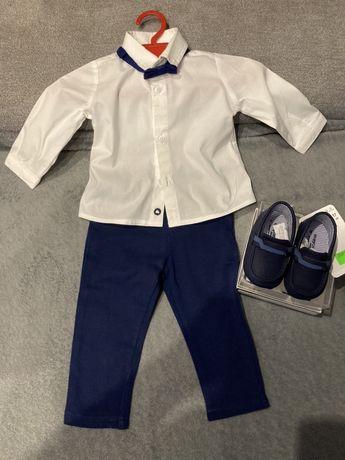 Eleganckie ubranko dla chlopca z bucikami+gratis