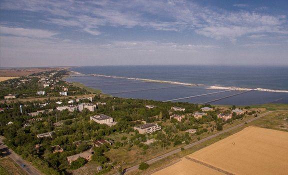 Продам участок под застройку на берегу Азовского моря