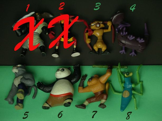 Figurki - Kung Fu Panda, Potwory i spółka i nie tylko