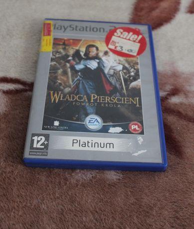Gra do PS2 Władca Pierścieni Powrót Króla