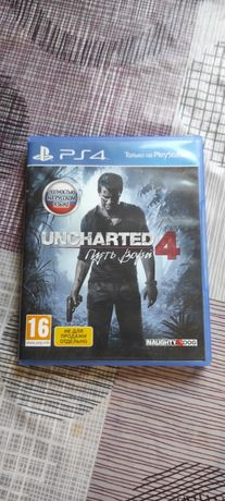 Uncharted 4 диск ps4