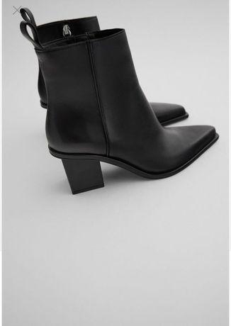 Ботинки Zara кожа