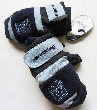 Rękawice narciarskie VIKING 3 dziecięce nowe jednopalczaste