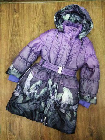 Пальто зима 128-140