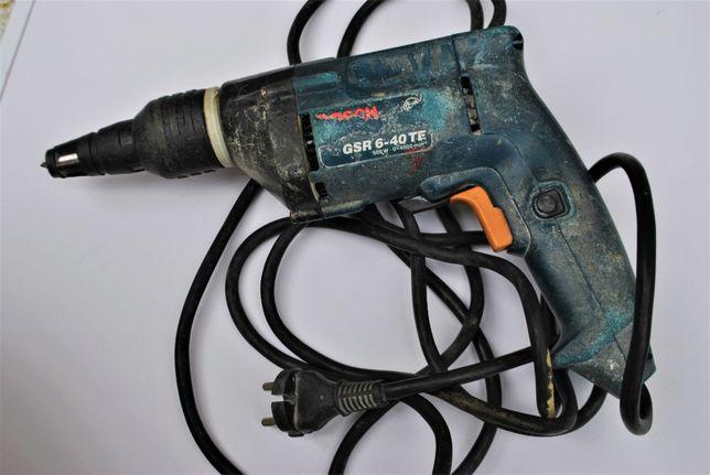 Bosch GSR 6-40 TE wkrętarka sieciowa do płyt g/k wkrętarka do rigipsów