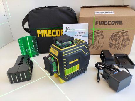 3D лазерный уровень FIRECORE F94T-XG 12 зелёных линий нивелир