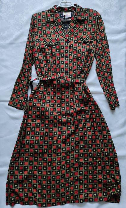 Сукня жіноча з натуральної тканини Коломыя - изображение 1