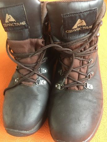 Ботинки нубук на шнурках китай 42 размер б/у в отличном состоянии