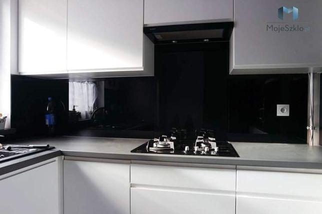 Lacobel czarny Szkło hartowane lakierowane do Kuchni W-wa