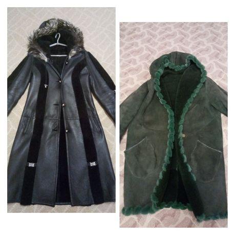 Дублёнка пальто