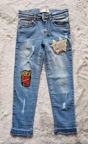 Spodnie jeansy Zara 116