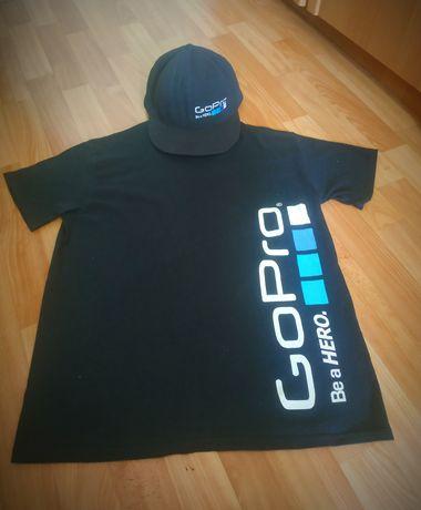 Кепка+ футболка GoPro