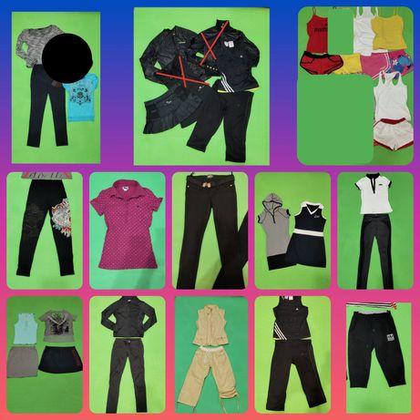 Спортивные вещи одежда мастерка юбка лосины футболка майка шорты Пакет