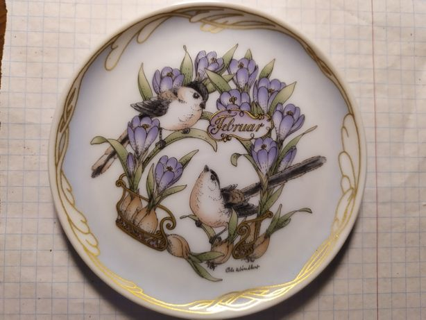 Hutschenreuther porcelanowy talerzyk dekoracyjny Ole Winther