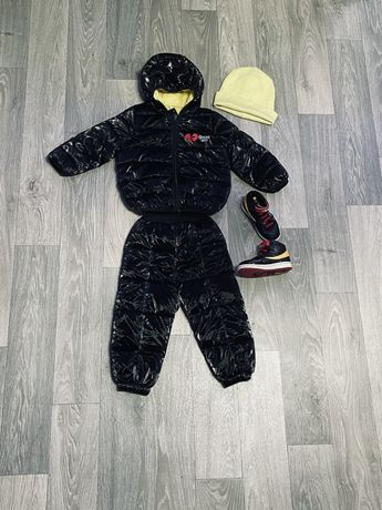 Демисезонный костюм (полный лук)
