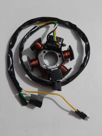 Bobine aprilia rs50 rx mx 50 magnético eletrica stator estator ducati