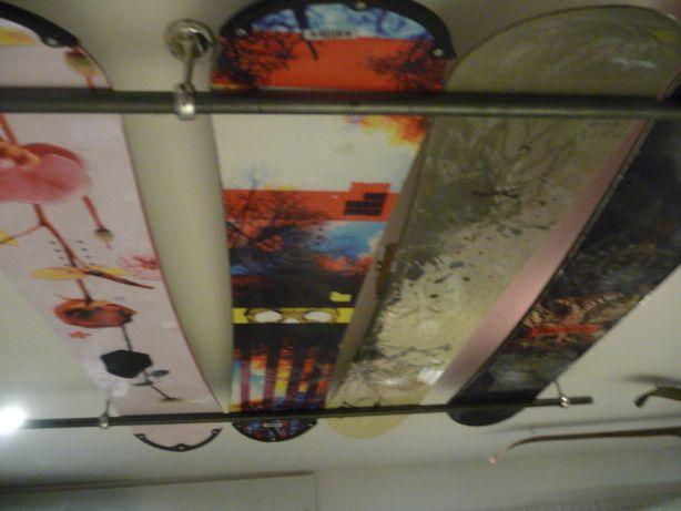 UZywane deski snowboardowe + wiązania 140,145,150