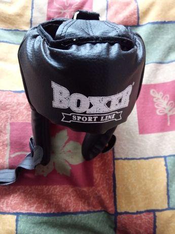 Шлем боксёрский кожаный Boxer