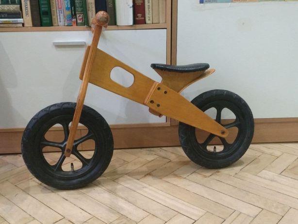 Детский деревяный Беговел