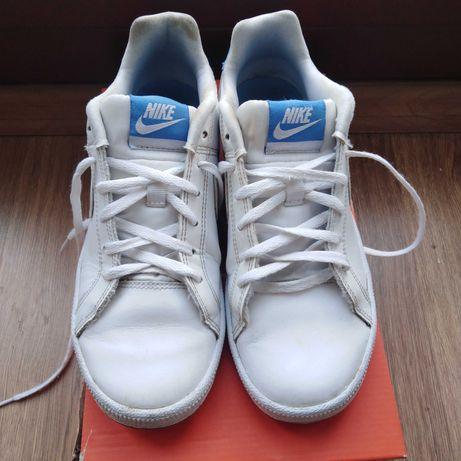 Białe skórzane buty Nike rozm. 38