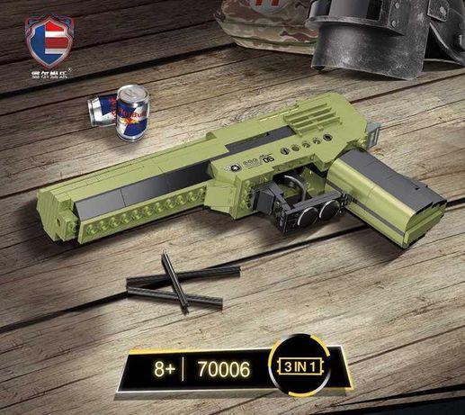 Конструктор Пистолет 226 деталей новый