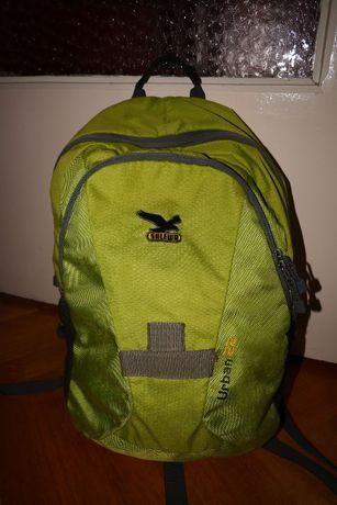 Plecak turystyczny szkolny na A4 i na laptop Salewa Urban zielony 22 l