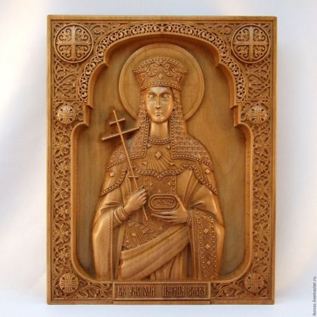 Св. Равноап. Царица Елена Икона
