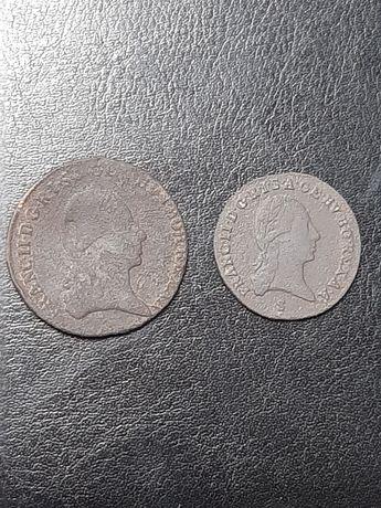 Продам монеты 1крейцер ,3крейцера 1800год.