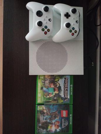 Konsola Xbox one S 2 pady ,gry