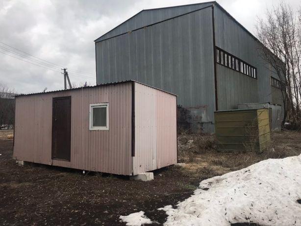 Складские ангары 2600 кв.м.+ 2,8 Га, возле аэропорта Борисполь!