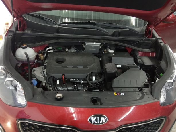 Установка ГБО на Kia Sportage 1.6 2.4 GDI  Hyundai